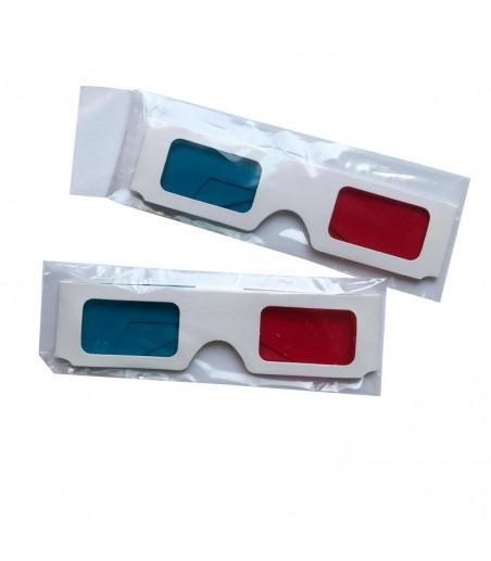 Okulary 3D 50 szt w celofanie