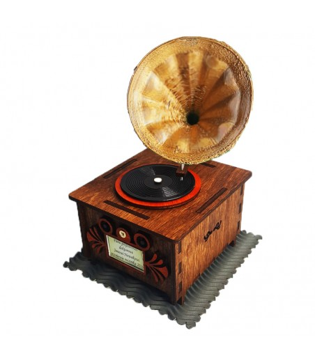Vintage Patefon Turntable